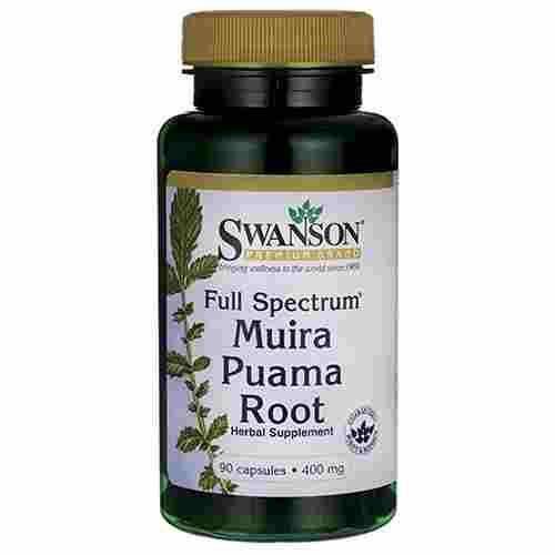 Swanson Full Spectrum Muira Puama Root 400 Mg 90