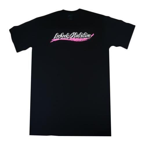 Lecheek Nutrition Lecheek Logo T-shirt - Black/Pink