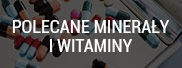 Recommended minerals and vitamins