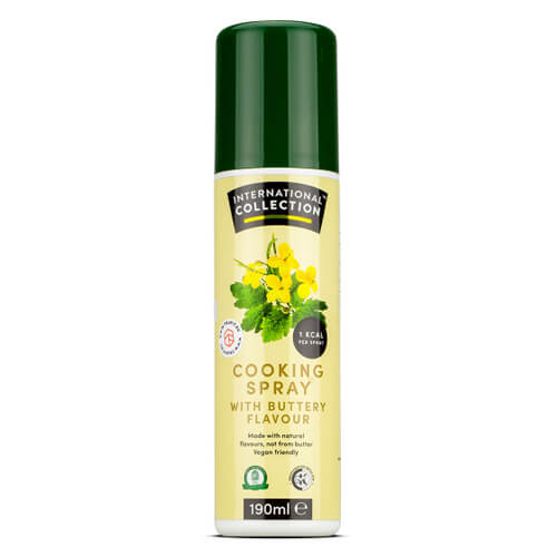 Cooking spray - International Collection - Cooking Spray Butter - 190ml