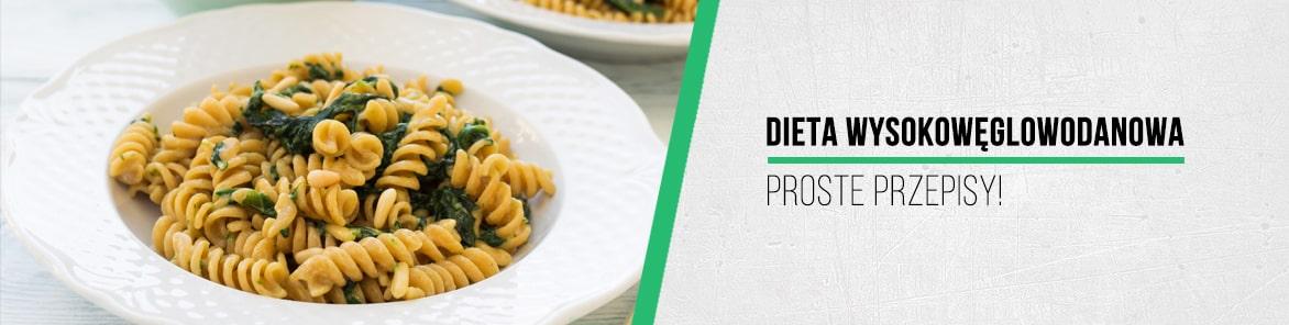 dieta wysokowęglowodanowa - przepisy