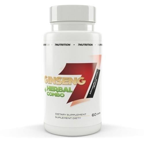 Ginseng + Herbal Combo - 7 NUTRITION