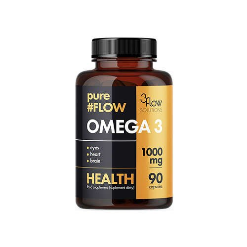Omega 3 1000mg PureFlow - 3FLOW SOLUTIONS