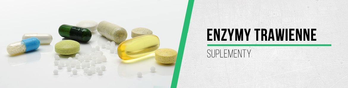 Suplementy z enzymami trawiennymi