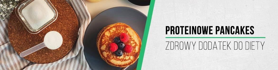 Proteinowe pancakes