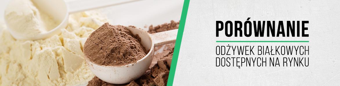 porównanie odżywek proteinowych