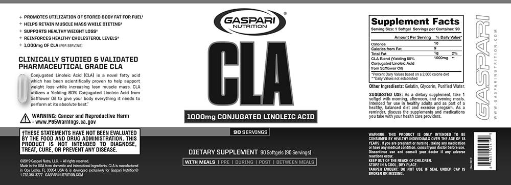 Gaspari - CLA