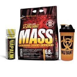 Mutant Mass - 6800g + Shaker Mutant  + FA - Napalm Shot