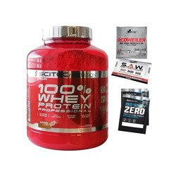 100% Whey Protein Professional - 2350g + 4 Product Samples