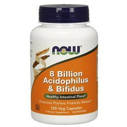 Acidophilus and Bifidus 8 Billion - 120vcaps - Black Friday