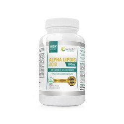 Alpha Lipoic Acid 600mg - 120vcaps