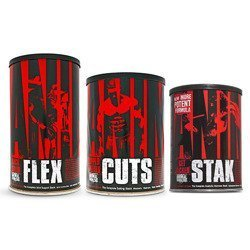 Animal Flex - 44pack + Animal Stak - 21pack.+ Animal Cuts - 42 pack.
