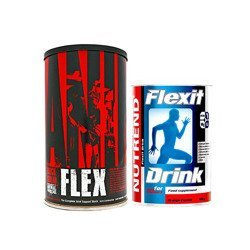 Animal Flex - 44pack + NUTREND - Flexit Drink - 400g