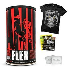 Animal Flex - 44pack + T-Shirt + Gazeta + Próbki