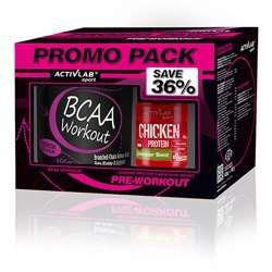 BCAA Workout - 400g + Chicken Carnosine Boost - 120caps - Promo Pack