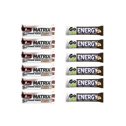 Baton Matrix Pro 32 Bar - 12x 80g + Baton Go On Energy - 12x 50g