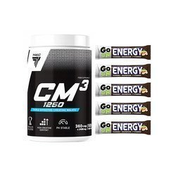 CM3 - 360caps + Go On Energy Bar - 5x 50g