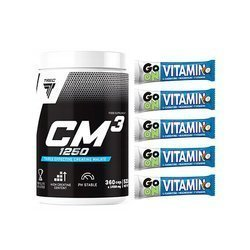 CM3 - 360caps + Go On Vitamin Bar - 5x 50g