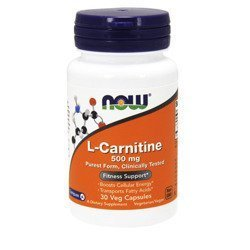 Carnitine 500mg - 60vcaps