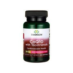 CoQ10 100mg + FS Tocotrienols 10mg - 60softgels