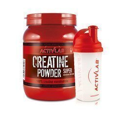 Creatine Powder - 500g + Shaker