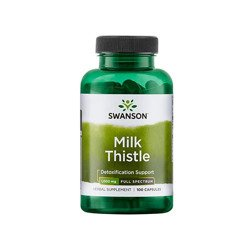 Full Spectrum Milk Thistle 500mg - 100caps - Black Friday