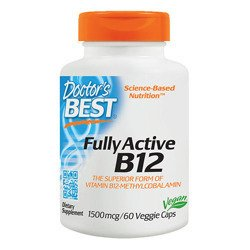 Fully Active B12 1500mg - 60vcaps