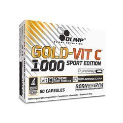 Gold Vit C 1000 Sport Edition - 60caps