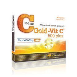 Gold Vit C 500 Plus - 30caps.