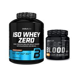 Iso Whey Zero - 2270g + Black Blood NOX+ - 330g