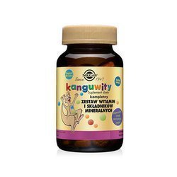 Kangavites (Complex of vitamins and minerals for children) - 120 lozenges