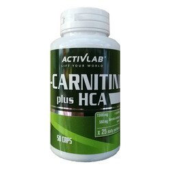 L-Carnitine HCA Plus - 50caps.