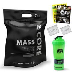 MASS CORE - 7000g + Shaker + Catalog + 2x Sample