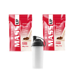 MASS UP 7 kg MUTANT XXL GAINER + SHAKER
