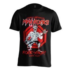 MMA ROCKS - T-Shirt - Rock The Cage