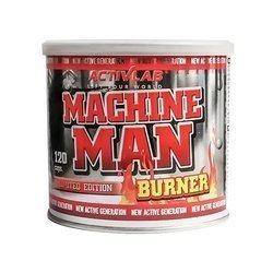 Machine Man Burner - 120kaps.