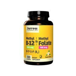 Methyl B12 & Methyl Folate 400mcg - 100lozenges