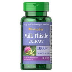 Milk Thistle 4:1 Extract 1000mg - 90softgels
