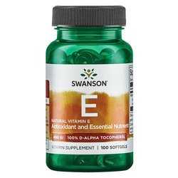 Natural Vitamin E 400IU - 100softgel