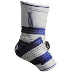 Opaska Na Kostkę - Ankle Support PRO - White / Blue