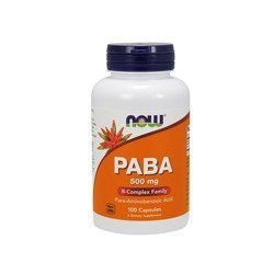 PABA 500mg - 100caps