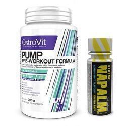 Pump - 300g +  FITNESS AUTHORITY - Xtreme Napalm Shot - 60ml