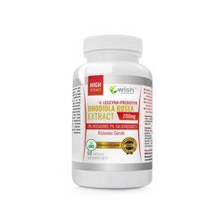 Rhodiola Rosea Extract 200mg (3%R, 1%S) - 60caps.