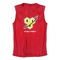 Running Vest Mens - Red