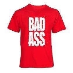 T-Shirt - BAD ASS - Red