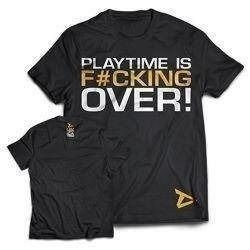 T-Shirt Playtime is over