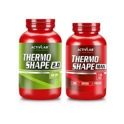Thermo Shape 2.0 - 180caps. + Thermo Shape Man - 120caps.