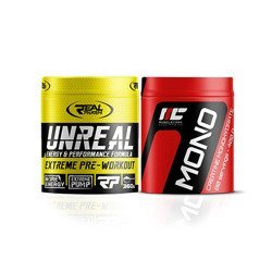 Unreal - 360g + Muscle Care Mono - 300g GRATIS