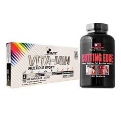Vita-Min Multiple Sport - 60caps + Cutting Edge - 120tabs