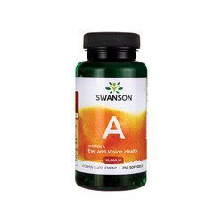 Vitamin A 10000IU - 250softgels